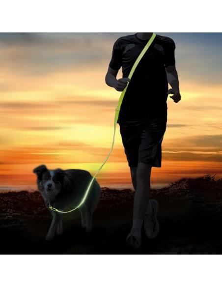 Trela para Jogging USB Flash Trixie Trelas Extensíveis