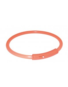 Coleira Flash Light Band Laranja