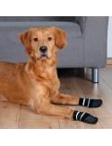 Meias para Cães, cor preta Trixie Proteção | Segurança