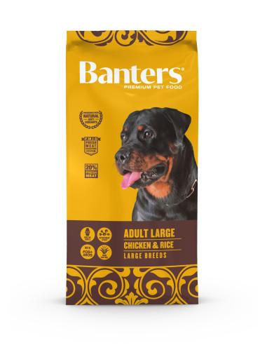 Banters Adult Large Breed Banters Ração Seca para Cães