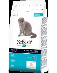 Schesir Dry Line Gato Adulto com Peixe