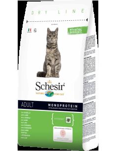 Schesir Dry Line Gato Adulto com Cordeiro Shesir Alimentação Seca