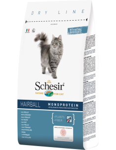 Schesir Dry Line Gato Hairball com Frango