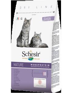 Schesir Dry Line Gato Mature com Frango Shesir Alimentação Seca