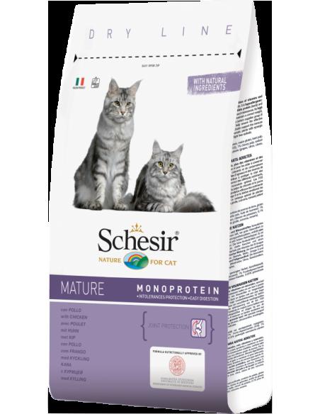 Schesir Dry Line Gato Mature com Frango