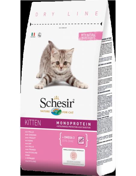 Schesir Dry Line Gato Kitten com Frango