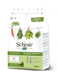 Schesir Dry Line Cão Porte Pequeno Vegetais 800gr