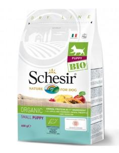 Schesir Bio Cão Puppy Small/Pequeno 600gr Shesir Alimentação Biológica