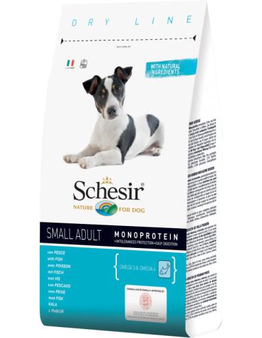 Schesir Dry Line Cão Small/Porte Pequeno com Peixe Shesir Alimentação Seca para Cães