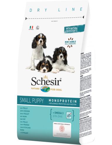 Schesir Dry Line Cão Small/Porte Pequeno Puppy com Frango Shesir Alimentação Seca para Cães