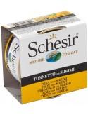 Schesir Lata para Gato Atum com Surimi