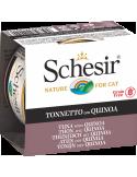 Schesir Lata para Gato Atum com Quinoa 0.85gr Shesir Alimentação Húmida para Gatos