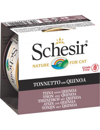 Schesir Lata para Gato Atum com Quinoa 0.85gr Shesir Comida Húmida para Gatos