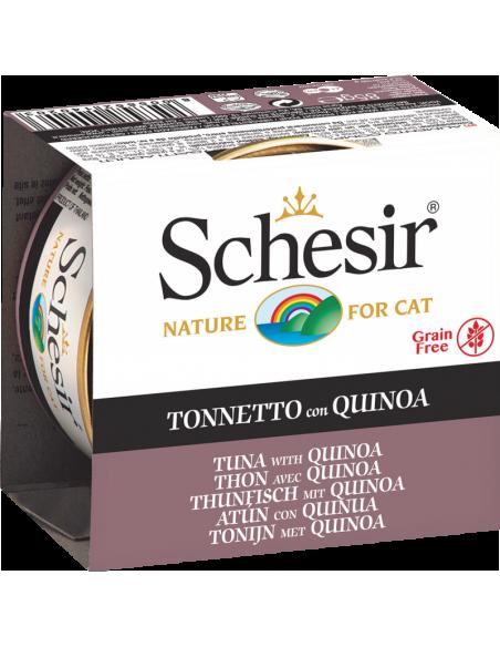 Schesir Lata para Gato Atum com Quinoa 0.85gr