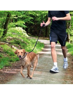 Trela para Jogging fixar no pulso Trixie Trelas Extensíveis