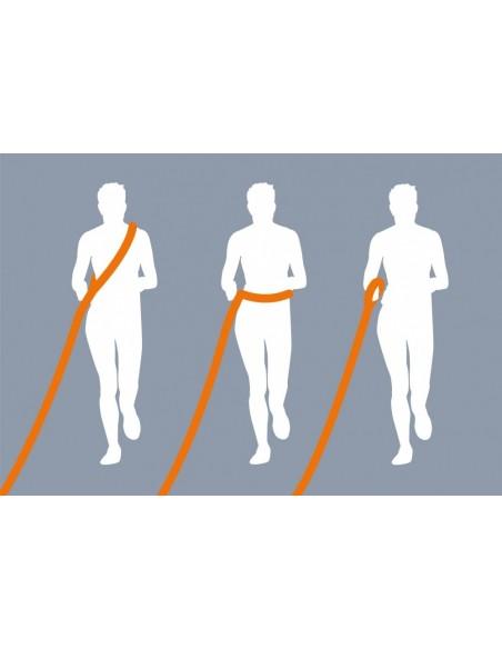 Trela para Jogging colocar à volta do corpo Trixie Trelas Extensíveis