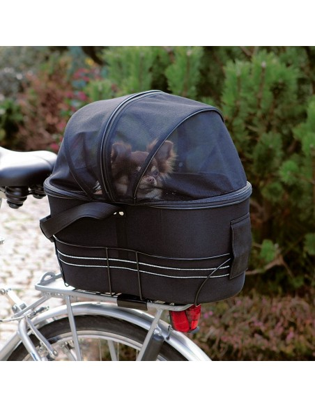 Saco Transportador para Bicicleta Trixie Bolsas de Transporte para cães