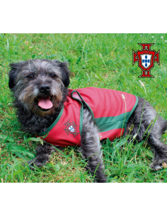 T-Shirt Oficial FPF - Portugal Roupas para cães