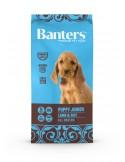 Banters Puppy Borrego 15KG Banters Ração Seca para Cães