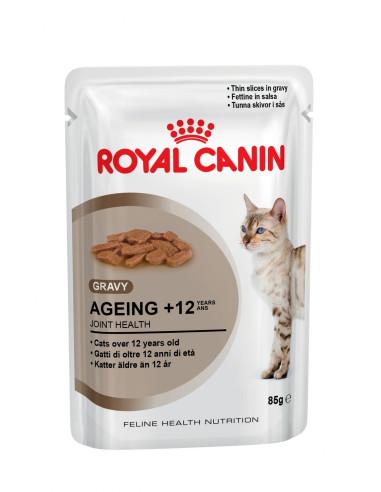 Royal Canin AGEING 12+ GRAVY Gato, Alimento Húmido
