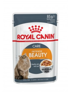 Royal Canin INTENSE BEAUTY JELLY Gato, Alimento Húmido Royal Canin Alimentação Húmida para Gatos