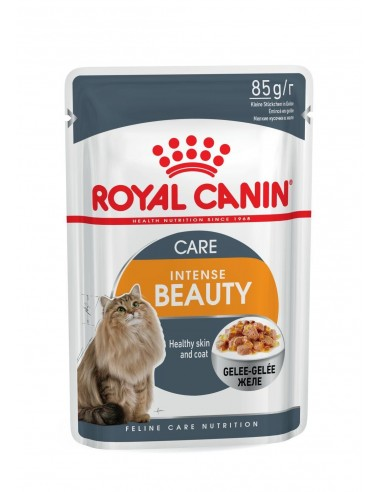 Royal Canin INTENSE BEAUTY JELLY Gato, Alimento Húmido | Comida Húmida Gatos | Royal Canin