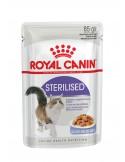 Royal Canin STERILISED JELLY Royal Canin Alimentação Húmida para Gatos