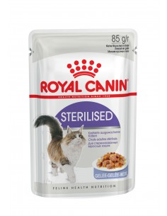 Royal Canin STERILISED JELLY Royal Canin Alimentação Húmida para Gatos