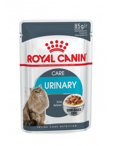 Royal Canin URINARY CARE GRAVY 85gr Gato, Alimento Húmido