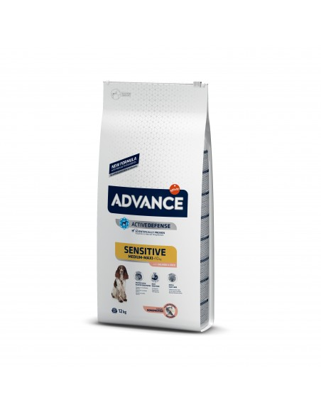 Advance Adulto Sensitive Salmão Medium - Maxi