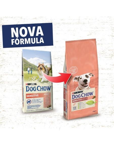 Dog Chow Sensitive Salmão | Ração Seca para Cães | Dog Chow