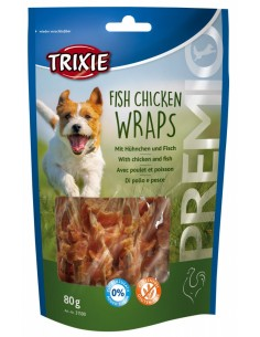 PREMIO Fish Chicken Wraps Trixie Snacks