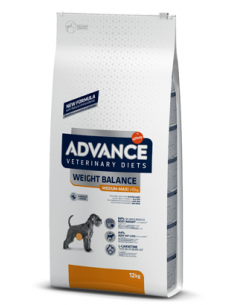 Advance Vet Weight Balance Medium Maxi Advance Veterinary Diets Obesidade / Diabeticos