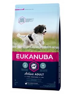 Eukanuba Adult Medium Eukanuba Ração Seca para Cães