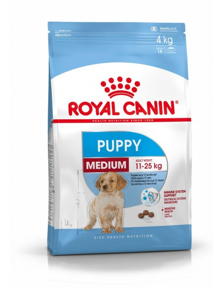 Royal Canin Medium Puppy , Alimento Seco Cão