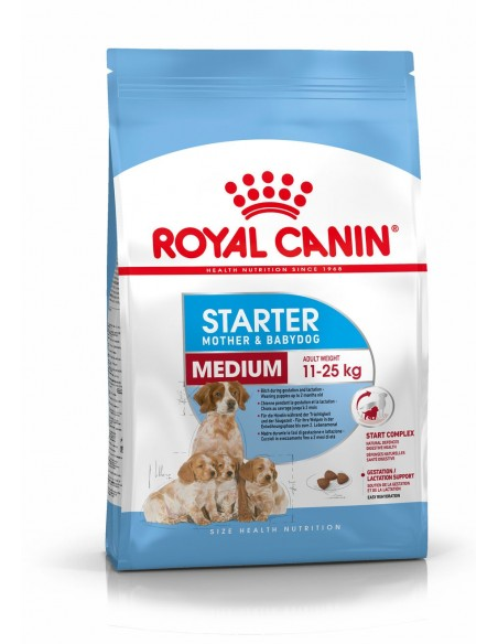 Royal Canin Medium Starter, Alimento Seco Cão