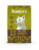 Banters Adult Mini Banters Ração Seca para Cães