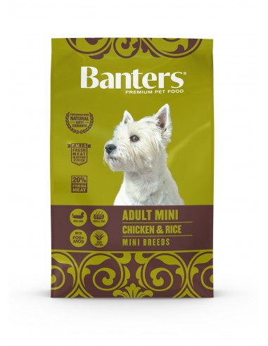 Banters Adult Mini | Ração Seca para Cães | Banters