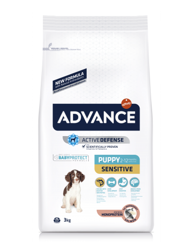 Advance Puppy Sensitive Salmão