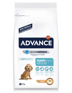 Advance Medium Puppy | Ração Seca para Cães | Advance Affinity