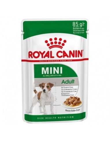 Royal Canin Mini Adult, Alimentação Húmida Royal Canin Alimentação Húmida para cães
