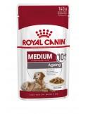 Royal Canin Medium Ageing +10, Alimento Húmido Royal Canin Ração Húmida para cães