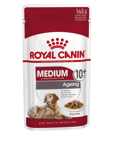 Royal Canin Medium Ageing +10, Alimento Húmido | Ração Húmida para Cães | Royal Canin