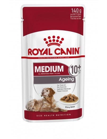 Royal Canin Medium Ageing +10, Alimento Húmido