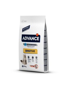 Advance Cat Adult Sensitive Salmão Advance Affinity Alimentação Seca