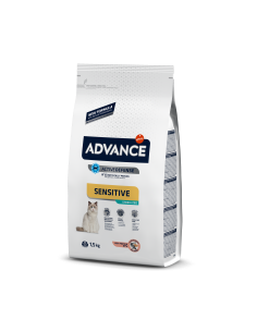 Advance Cat Sterilised Sentitive Salmão Advance Affinity Cuidados Especiais