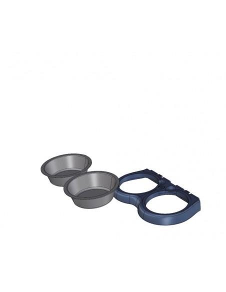 Comedouro Parede Food Stand Maxi 2,2Lt | Comedouro para Cães | Trixie
