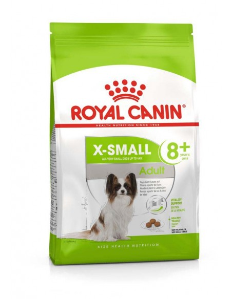 Royal Canin X-Small Adult 8+, Alimento Seco Royal Canin Alimentação Seca para Cães