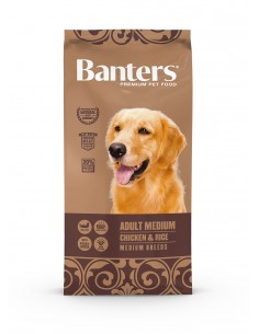 Banters Adult Chicken 15KG