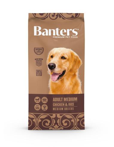 Banters  Adult Chicken 15KG | Ração Seca para Cães | Banters